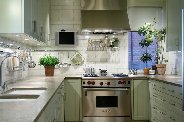 Carnegie Hill Residence, NY contemporary-kitchen