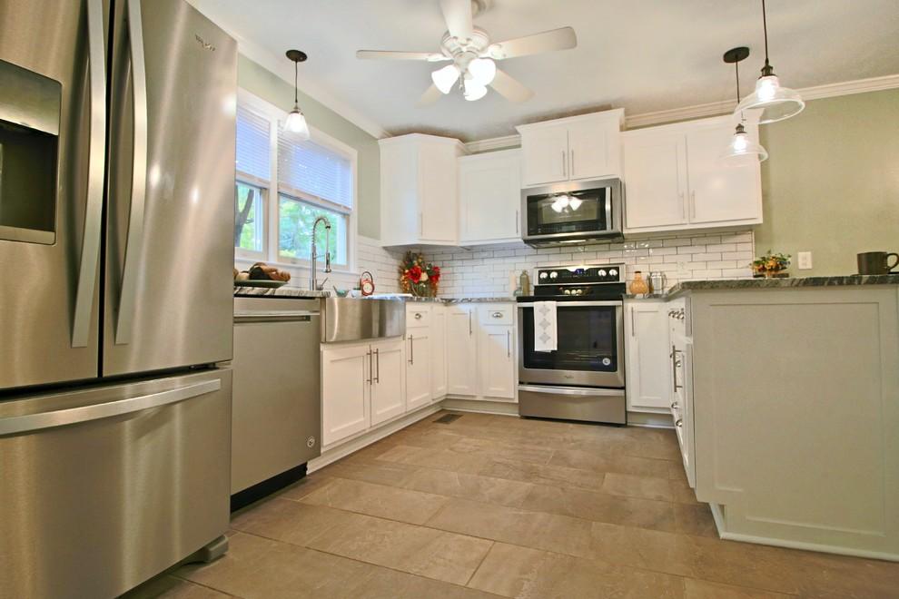 Carolina Ave Kitchen Remodel - Transitional - Kitchen ...