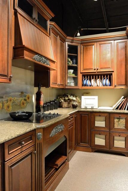 Carolina Kitchen and Bath Showroom traditional-kitchen