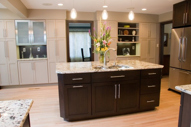 Traditional Kitchen by Carolina Kitchens 8 Top Hardware Styles for Shaker Cabinets