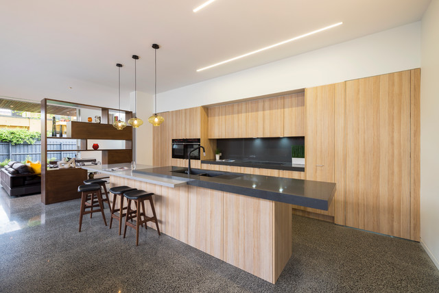 Carpenter Street Contemporary Kitchen Melbourne By Dig Design