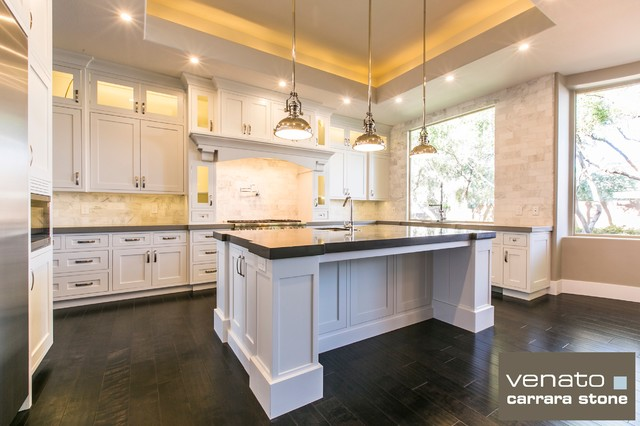 Carrara Venato 3x6 Subway Marble Tile Backsplash