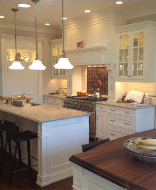 Carriage House Kitchen Renovation traditional-kitchen