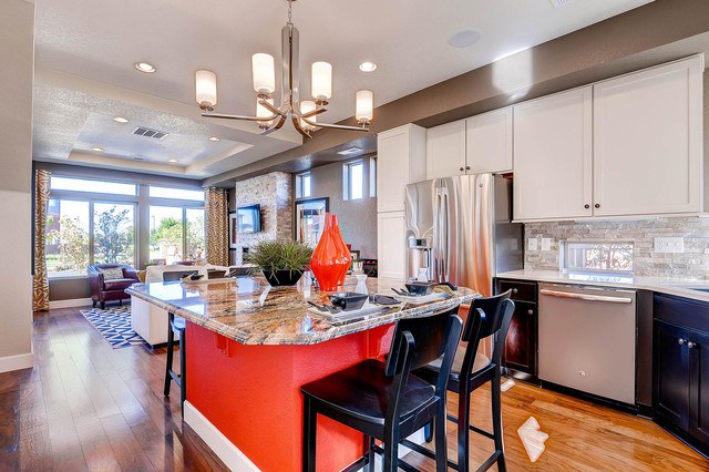 Carriage House Surrey Model Contemporary Kitchen Denver By Oakwood Homes