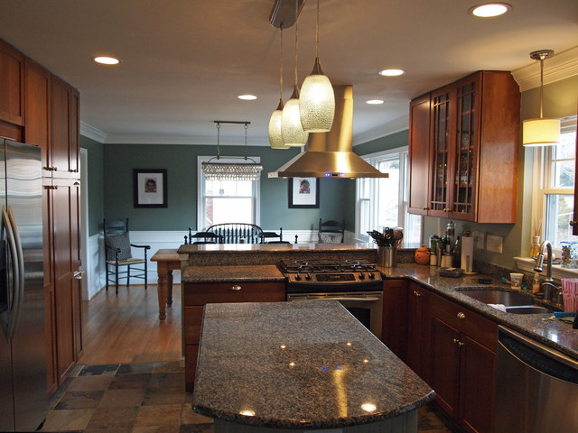 Carriage Road Kitchen Renovation traditional-kitchen
