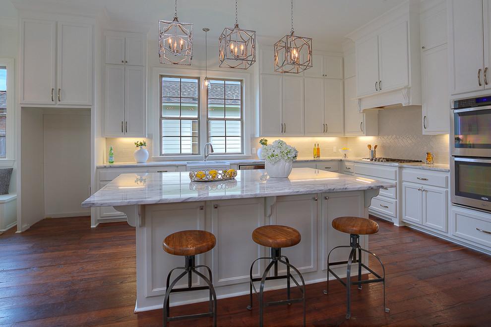 Carriagewood Estates Custom Louisiana Transitional Home ...