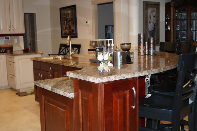 Carriere Residence traditional-kitchen