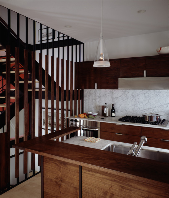 Carroll Gardens Abode modern kitchen