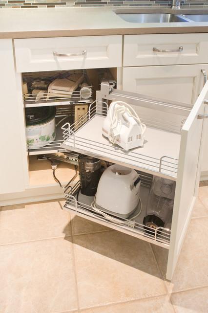 Corner Cabinet Insert Transitional Kitchen Dallas By Kitchen