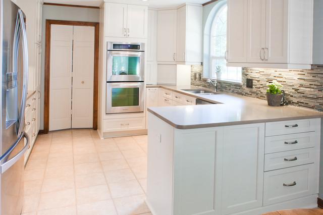 Sink Side Galley Kitchen Transitional Kitchen Dallas By Kitchen Design Concepts