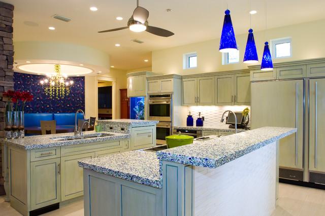 Carter Custom Home contemporary-kitchen