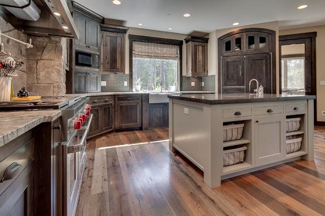 Carus Kitchen Rustic Kitchen Portland By