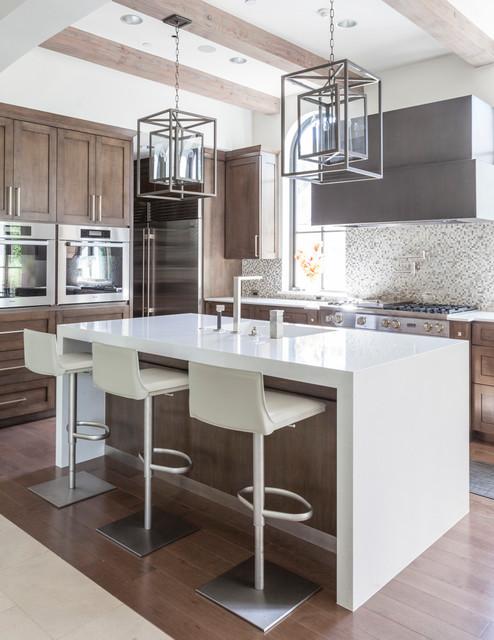 Caruth Residence mediterranean-kitchen