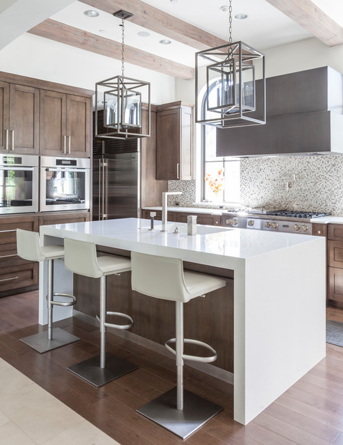 Caruth Residence - Mediterranean - Kitchen - Dallas - by Stocker Hoesterey Montenegro