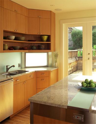 Cary Bernstein Architect Cow Hollow Flat modern-kitchen