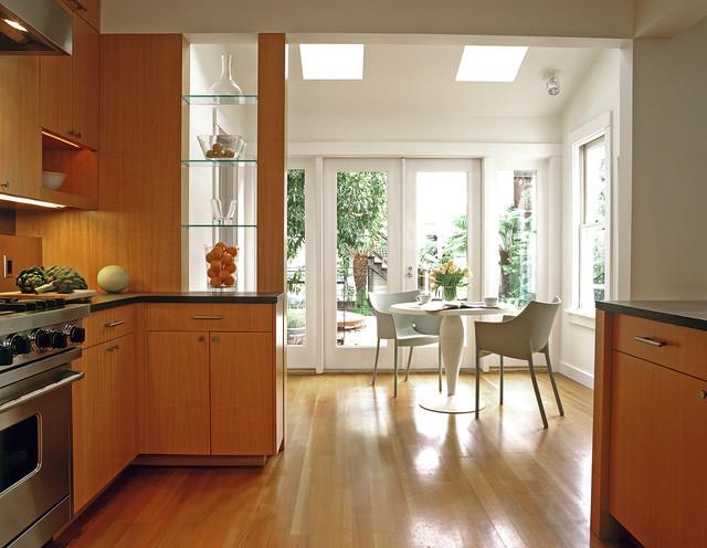 Cary Bernstein Architect Eureka Valley Residence contemporary-kitchen