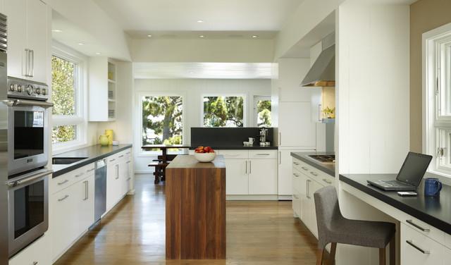 Cary Bernstein Architect Potrero House transitional-kitchen