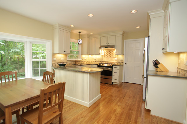 Cary Kitchen Remodel - E traditional-kitchen