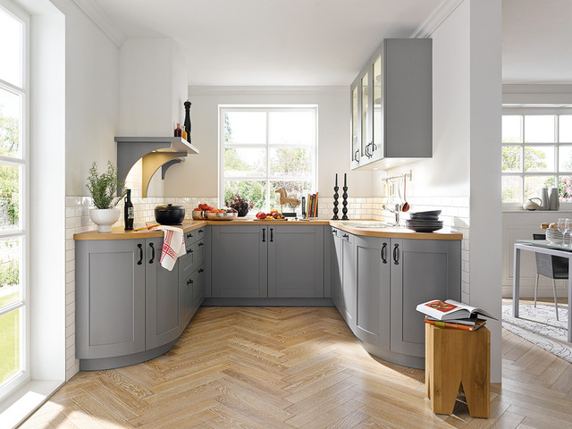 Marvelous Casa Agate Grey Silk Gloss Schüller Kitchen Farmhouse Kitchen
