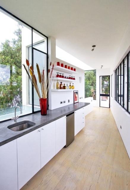 Casa Lluvia Blanca southwestern-kitchen