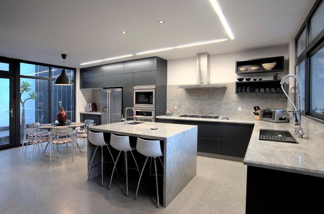 Casa zs modern exterior other by rojo architecture for Piani di casa cottage con porte cochere