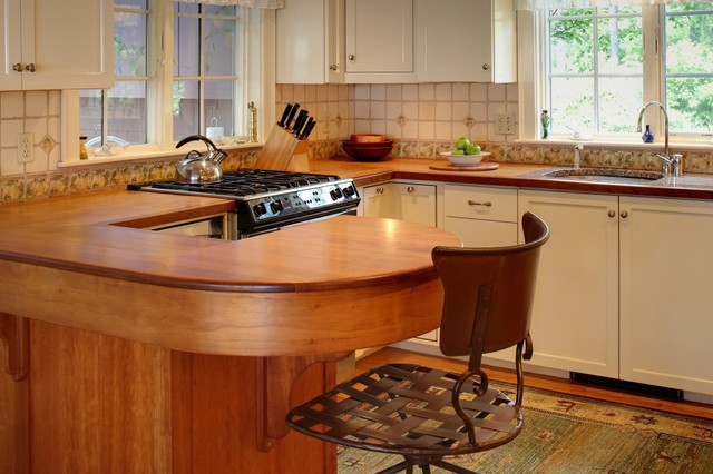 Casco Bay Residence traditional-kitchen