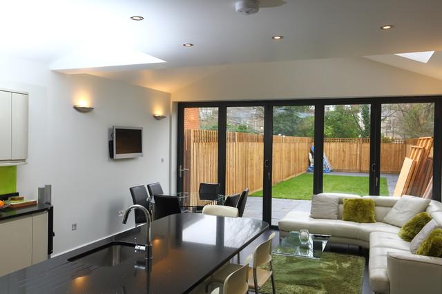 Case Study Single Storey Extension Roxborough Rd Modern Kitchen