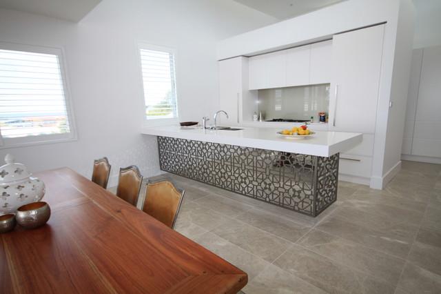 Kitchen Tiles Australia cashmere marble flooring - contemporary - kitchen - sydney -