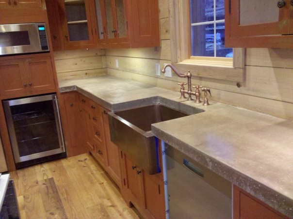 Cast N Place Concrete Countertops - Traditional - Kitchen - Birmingham - by The Concrete ...