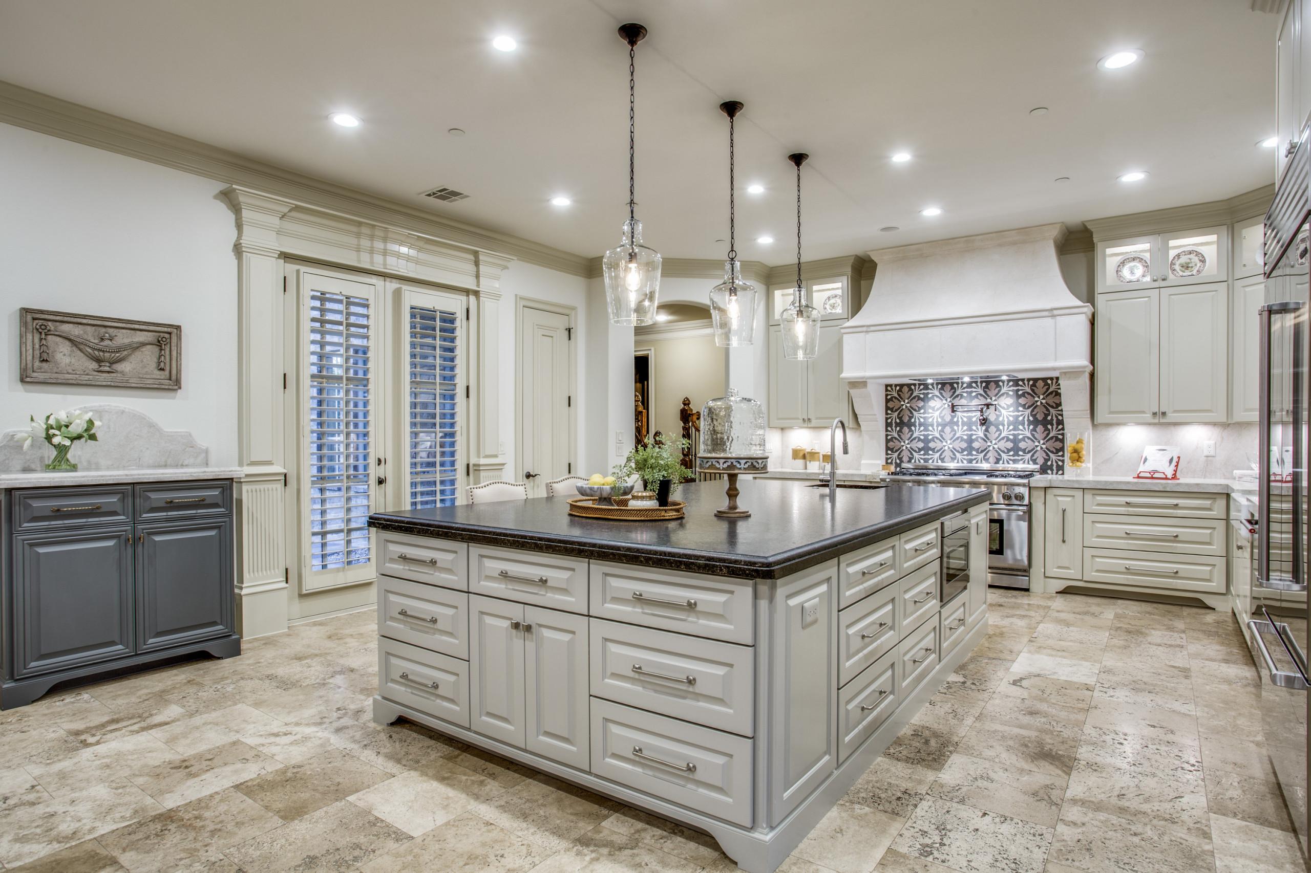 Cast Stone Kitchen