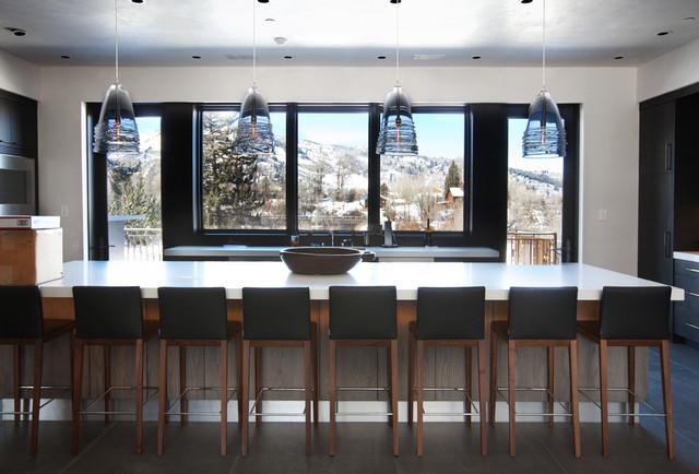 Castle Creek contemporary-kitchen