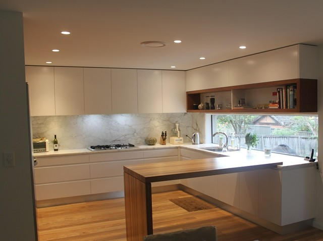 Castle hill modern kitchen sydney by kitchens by for Modern kitchen design australia