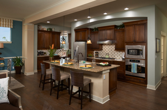 Castle Pines Traditional Kitchen Denver By David Weekley Homes