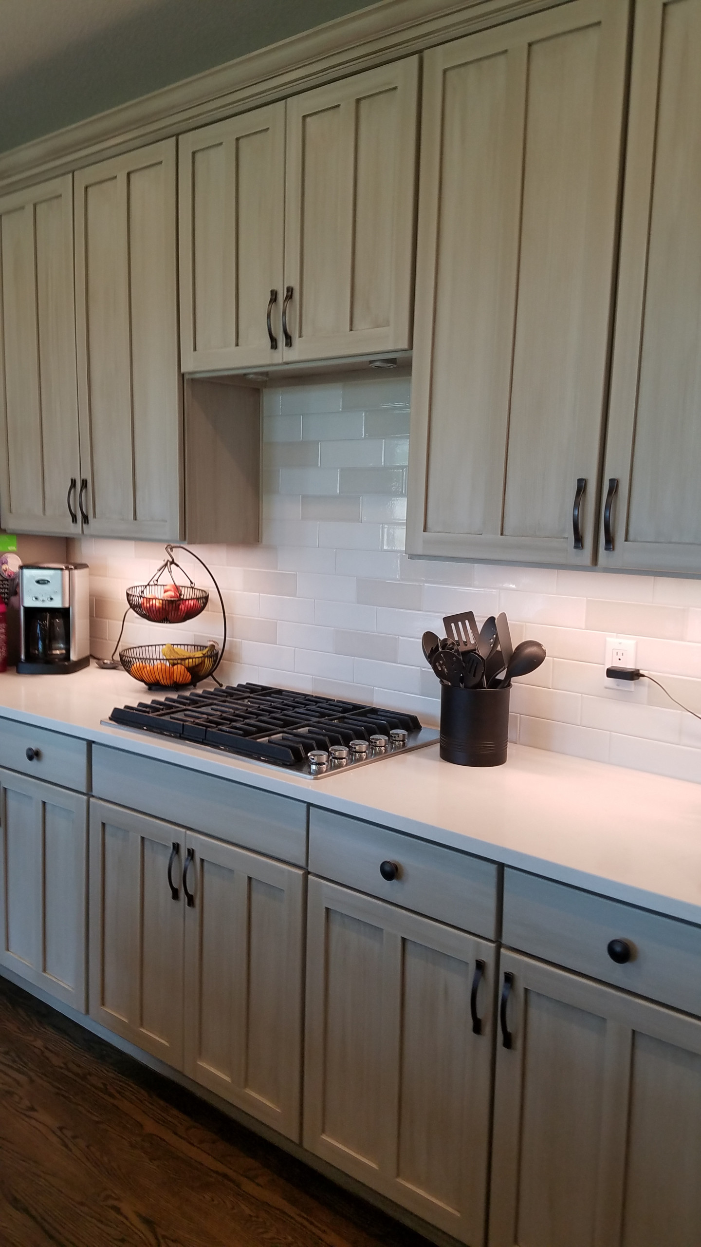 Castle Pines Maple Kitchen Cabinets