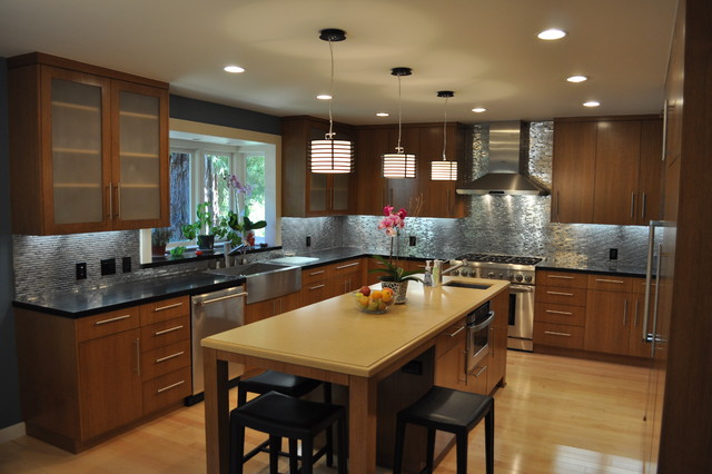 Castle Rd. Project contemporary-kitchen
