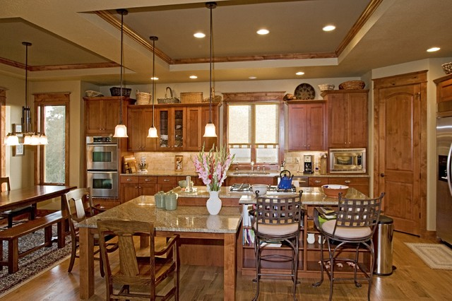 Castle Rock Craftsman Home - craftsman - kitchen - denver - by