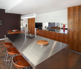 Castlecrag Kitchen - Contemporary - Kitchen - sydney - by Art of Kitchens Pty Ltd