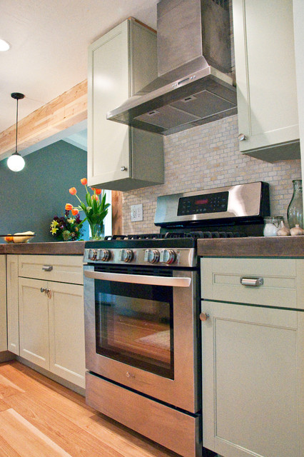 Casual Comfort contemporary-kitchen