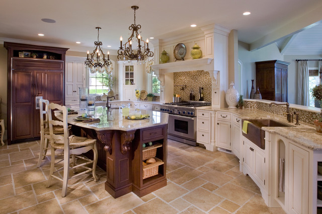 Casual Elegance Traditional Kitchen Philadelphia By Kitchens By Eileen