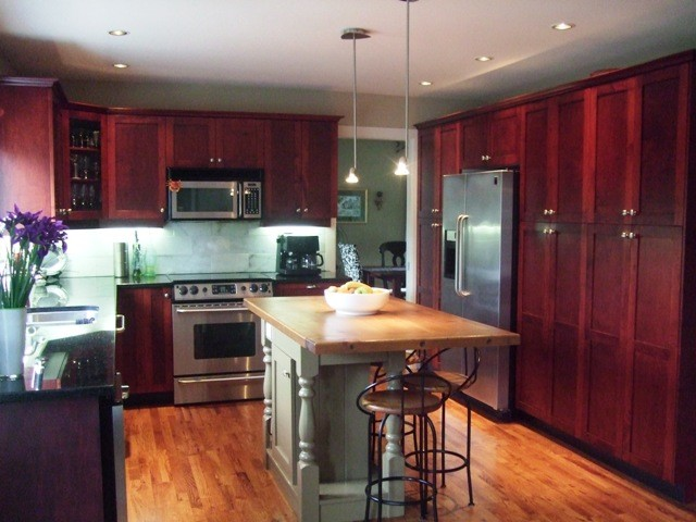 Casual Family Living traditional-kitchen
