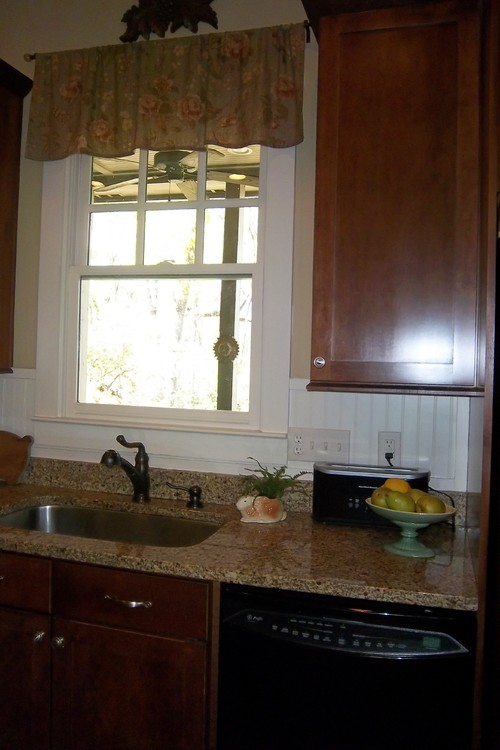 is beadboard backsplash tile or wood
