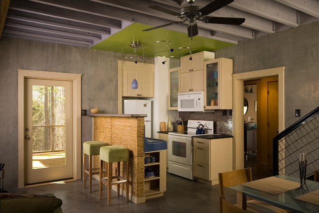 Caswell county retreat contemporary kitchen raleigh by ellen cassilly architect - Houzz cuisine ...