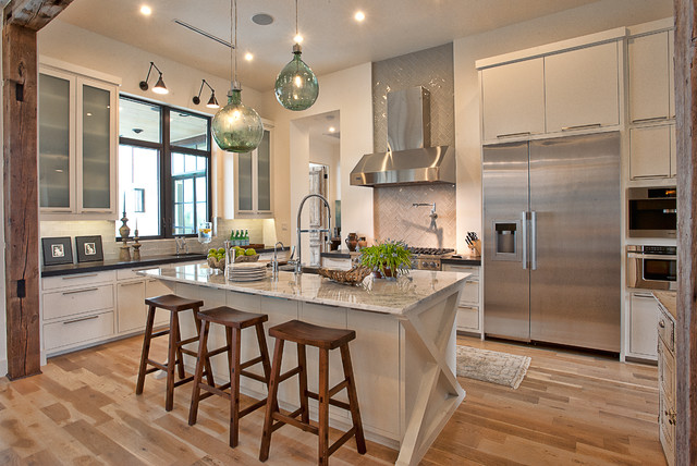 Cat Mountain Residence - Transitional - Kitchen - Austin - by ...