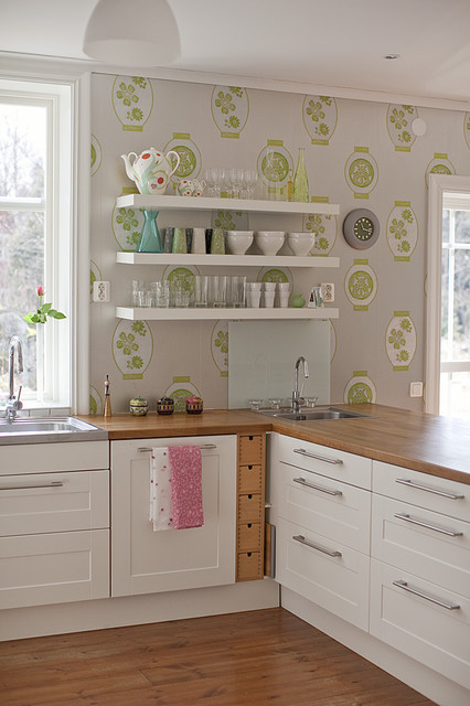 Cat's house eclectic-kitchen