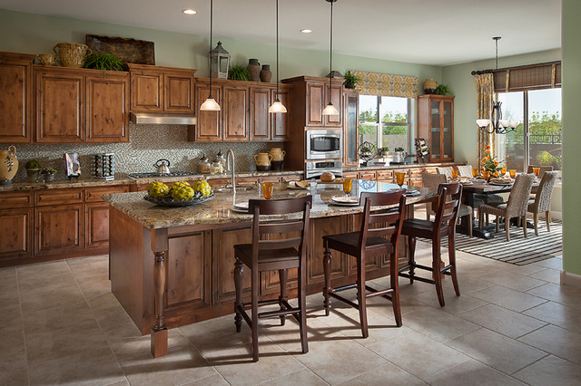Catalina - Traditional - Kitchen - Phoenix - by David Weekley Homes