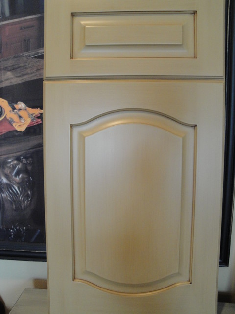 Cathedral Door Style Traditional Kitchen Other Metro