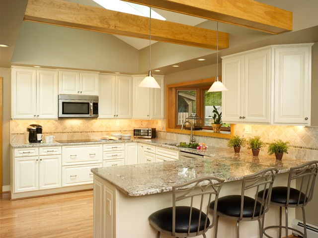 Cathedral kitchen modern kitchen other by gavin design build inc for Cathedral style kitchen cabinets