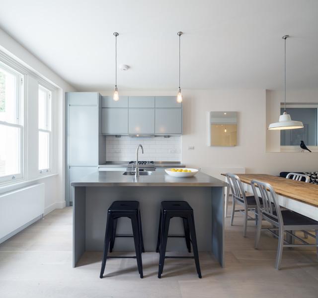 厨房吧台现代风格装潢图片