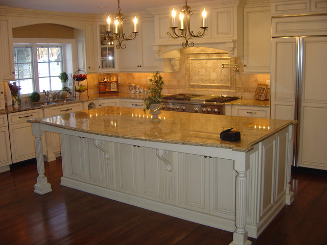 Catoonah St Ridgefield Ct Traditional Kitchen New York By La Pietra Marble Inc