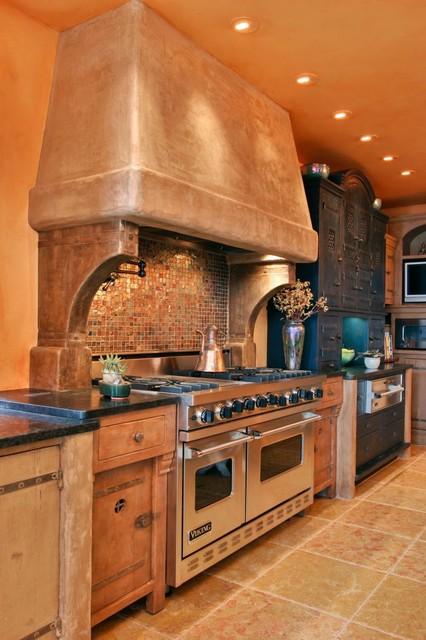 Southwestern Kitchen Cabinets cayucous kitchenjory brigham designs - southwestern - kitchen